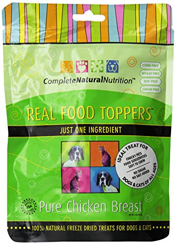 Complete Natural Nutrition Real Food Toppers - Pure Chicken Breast - 4-Ounce by Complete Natural Nutrition (Image #6)