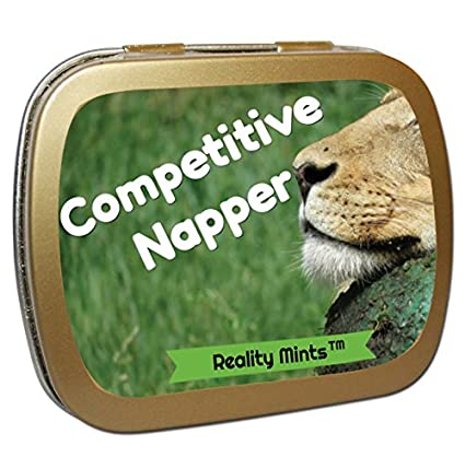 Amazon competitive napper mints weird gift for friends funny competitive napper mints weird gift for friends funny easter gifts silly stocking stuffers for anyone negle Gallery