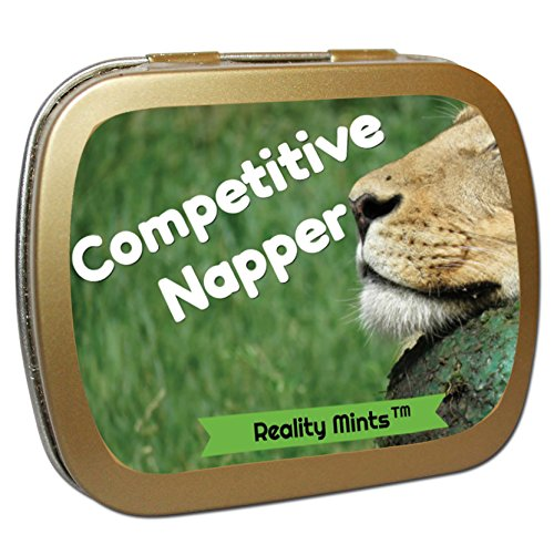 Competitive Napper Mints – Weird Gift for Friends Funny Ea