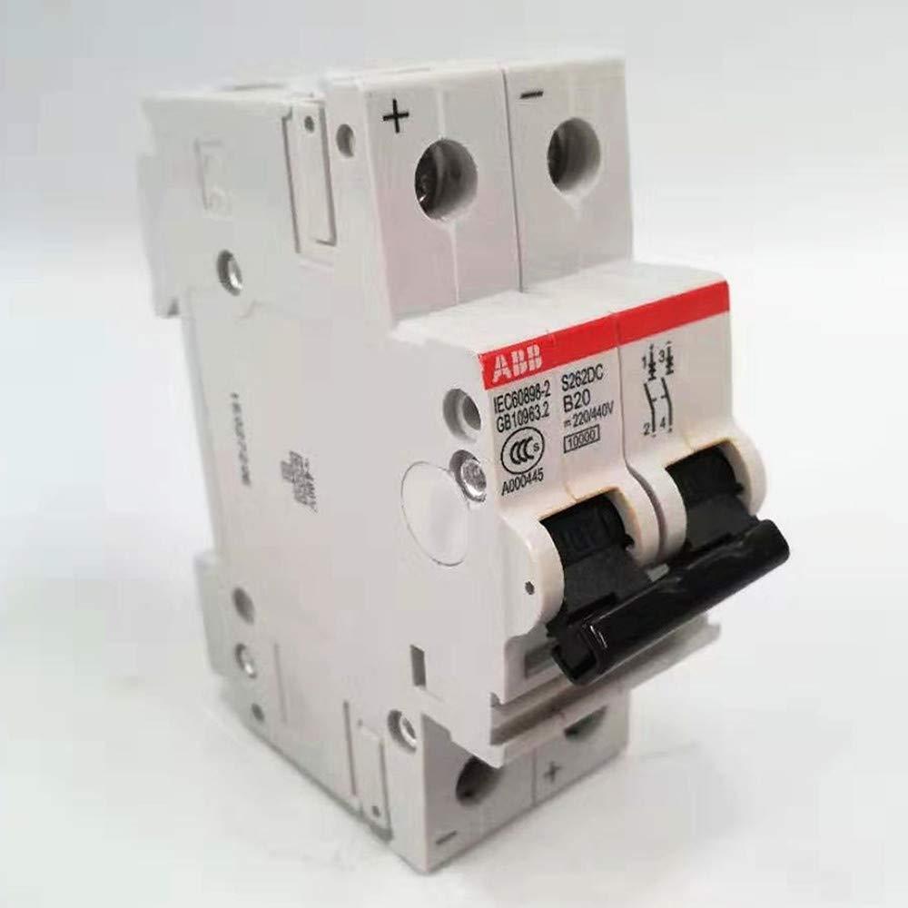 1440720E Bibos Breakers 2 Poles 10 Amp 125//250V Miniature/Circuit Breaker ABB S252SDC B10 Circuit Interrupter