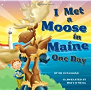 I Met a Moose in Maine One Day