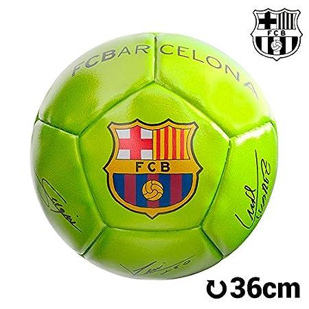QTIMBER Balón de Fútbol Mini Amarillo F.C. Barcelona #manufacturer ...