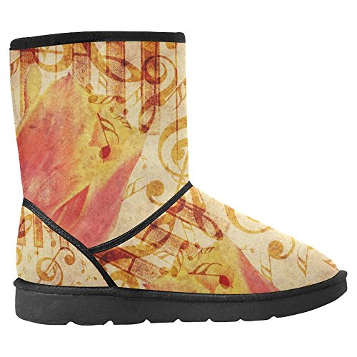 Boots Comfort Multi InterestPrint Womens Snow Winter Boots 27 Unique Designed wnOUqf0