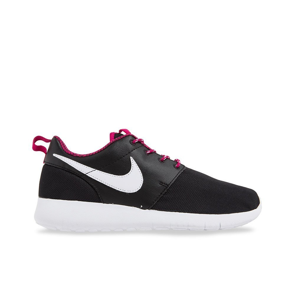 c1781d706b75 Amazon.com   NIKE Roshe ONE Sneakers (GS) 599729-009 Black Sport Fuchsia  White  4 Big Kid M   Sports   Outdoors
