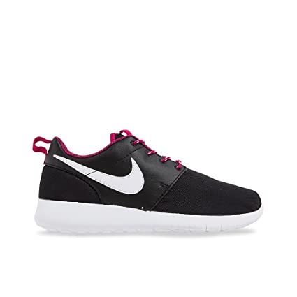 32f30fbc9d61 Image Unavailable. Image not available for. Color  NIKE Roshe ONE Sneakers  (GS) 599729-009 Black Sport ...