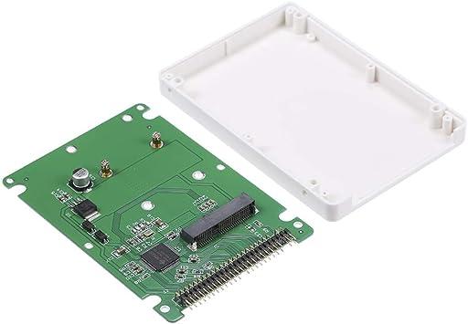 "mSATA to 2.5/"" 44PIN IDE HDD SSD mSATA to PATA Converter Adapter Cards nice"