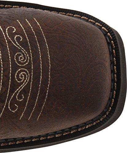 Justin Boots Donna Gypsy Collection Western Boot Marrone Fiore In Rilievo