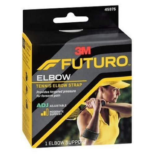 海外直送品Futuro Futuro Sport Tennis Elbow Support Adjust To Fit, each (Pack of 3)   B00E4MISV8