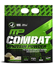 MusclePharm Combat Protein Powder, Essential Whey Protein Powder, Isolate Whey Protein, Casein and Egg Protein with BCAAs and Glutamine for Recovery