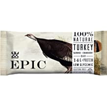 Turkey Almond Cranberry Bar (Pack of 6) by Epic