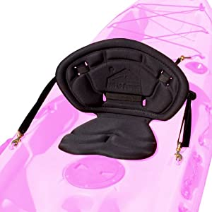 Surf to Summit Outfitter Series Black No Pack Kayak Seat