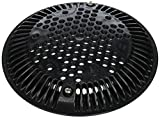 Hayward WGX1048EBLK 8-Inch Black Suction Outlet Cover Replacement for Hayward Drain Cover and Frame
