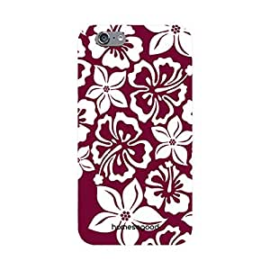 HomeSoGood Distinct Floral Combinations Brown 3D Mobile Case For iPhone 6 (Back Cover)