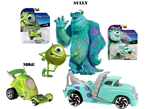 Hot Wheels Disney/Pixar Character Cars Monsters Inc Mike & Sulley -