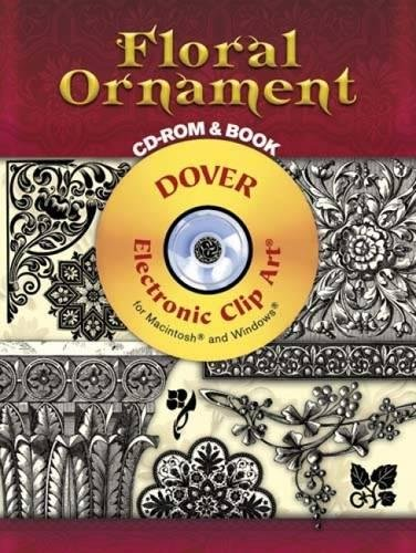 - Floral Ornament CD-ROM and Book (Dover Electronic Clip Art)