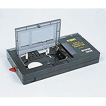 Motorizada con VHS-C de vídeo adaptador de casete A adaptador de casete para permitir