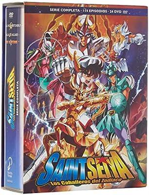 Saint Seiya Serie Clásica Completa. Episodios 1 A 114. DVD: Amazon ...
