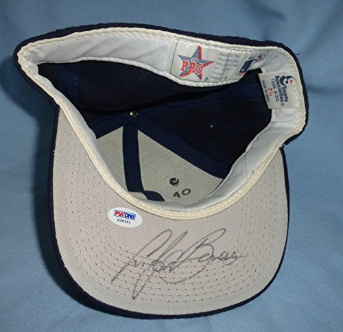 Andy Benes Signed Padres Baseball Hat COA 1989-1995 1993 All Star Auto'd - PSA/DNA Certified - Autographed Hats