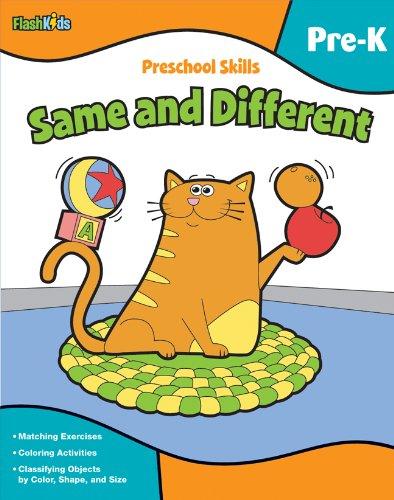 Preschool Skills: Same and Different (Flash Kids Preschool Skills)