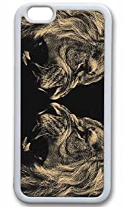 Lion Roar Case for iPhone 6 Plus TPU White by Cases & Mousepads