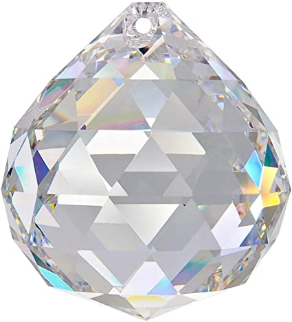 Kristall Kugel 30mm 3 st.Regenbogenkristall Lüsterbehang 24/% Bleikristallglas