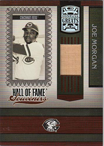 2005 Greats Hall of Fame Souvenirs Material Bat #HOFS-19 Joe Morgan NM Near Mint MEM Cincinnati Reds from Greats