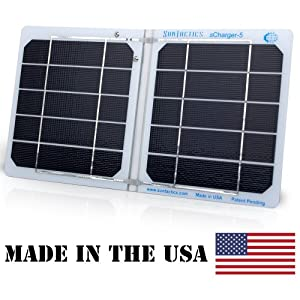 Suntactics sCharger-5 High Performance Solar Charger