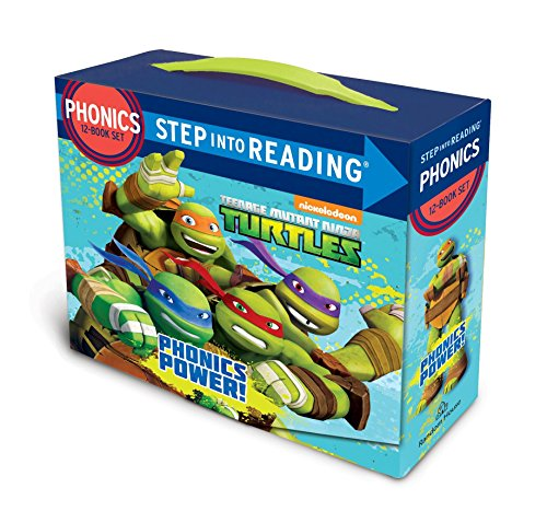 Phonics Power! (Teenage Mutant Ninja Turtles) (Step into Reading) by Nickelodeon