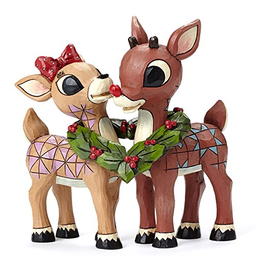 Rudolph Traditions by Jim Shore Rrnjs Fig Rudolph & Clari...