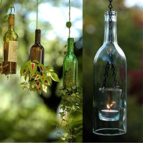 Cortador de cristal para botellas de vino de cerveza, cortador de tarros, escultura de corte de arte, herramienta de reciclaje DIY: Amazon.es: Bricolaje y ...