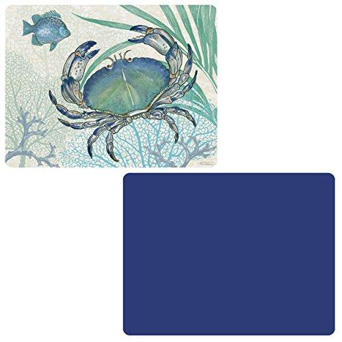 Mats Flexible Set Chopping (CounterArt 'Blue/Oceana' Flexible Cutting Mat, Set of 2)