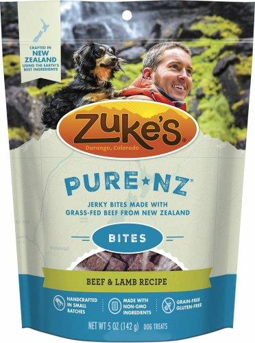 Zuke's PureNZ Bites Jerky Treats Beef & Lamb 7.5lb (24 x 5oz)