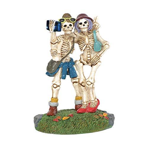 Department 56 Village Collections Accessories Halloween Skelfie Figurine, 3.25
