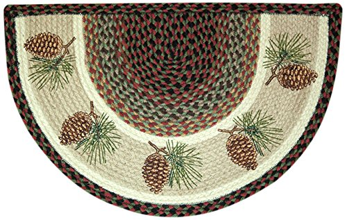 Pinecone Round - Earth Rugs 32-081P Rug, 18