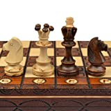 Best Chess Sets - Handmade European Wooden Chess Set with 16 Inch Review