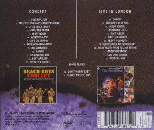 Beach Boys Concert / Live London by Emm/Capitol
