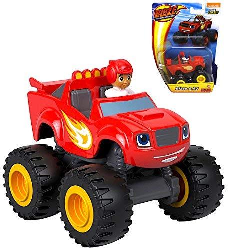 Nickelodeon Die Cast Blaze and the Monster Machines Blaze & AJ