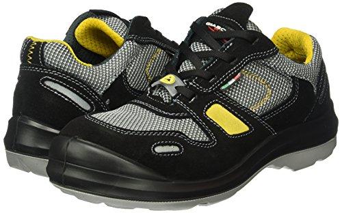 Giasco 31H34C48 Dublin Chaussures de sécurité bas S1P Taille 48 Noir/Gris/Jaune