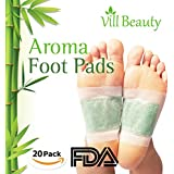 FDA CERTIFIED Upgraded 2 In 1 Foot Pads, Best Nature Foot Pads, Rapid Foot Care and Pain Relief, Higher Efficiency Than Foot Cushions, Sleeve Metatarsal Pads - 2017 New