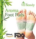 #1: FDA CERTIFIED Upgraded 2 In 1 Foot Pads, Best Nature Foot Pads, Rapid Foot Care and Pain Relief, Higher Efficiency Than Foot Cushions, Sleeve Metatarsal Pads - 2017 New