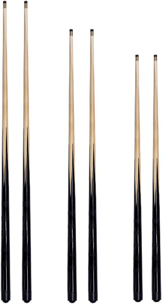 6 trade pool snooker Cues