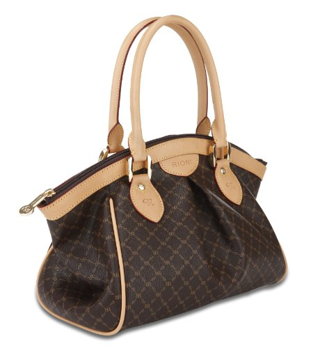 Rioni Signature (Brown) - Ruched Satchel ()