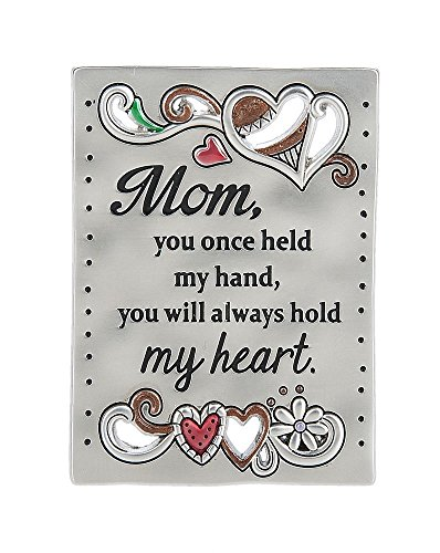 Ganz Inspirations Family Grateful Heart Mini Message Plaque Magnet Mom/Heart-ER59713