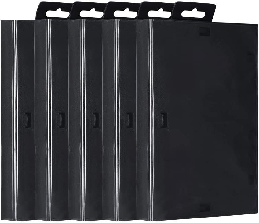 Pack of 5 Game Card Case for Sega, For Sega Genesis Game Cartridge Empty Shell Box Case Replacement Accessories, Game Box Protectors Box Shell Storage Case Fit for Sega, for Use at Home or on the Move