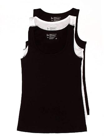 3b2a2d46e8 Felina | Cotton Stretch Layering Tank Top | Loungewear | 3 Pack | Multiple  Colors Black