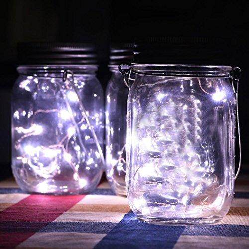 Solar Led Light,Fheaven LED Fairy Light Solar Powered For Ma