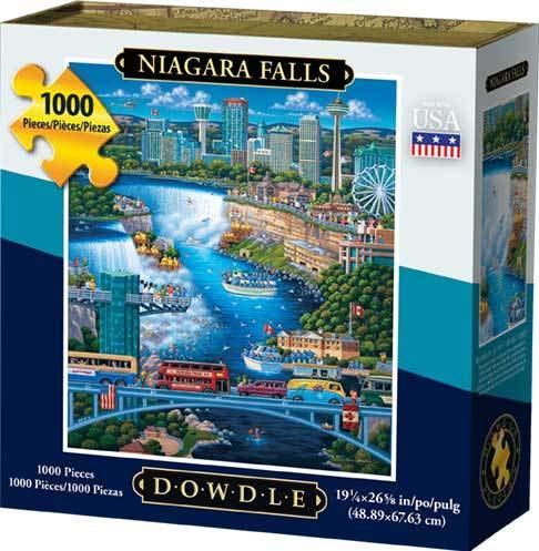 1000 piece puzzles dowdle - 1