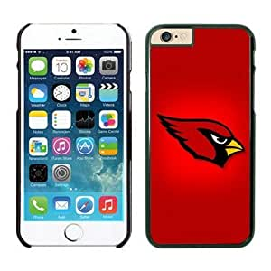 NFL iPhone 6 4.7 Inches Case Arizona Cardinals Black iPhone 6 Cell Phone Case KXWFRTYE0039