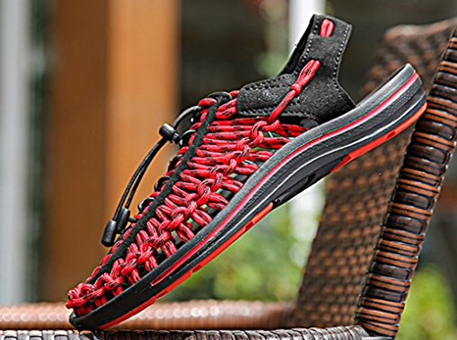 Uomo 39 Red Black 5 Outdoor EU Femaroly 81TqwR8