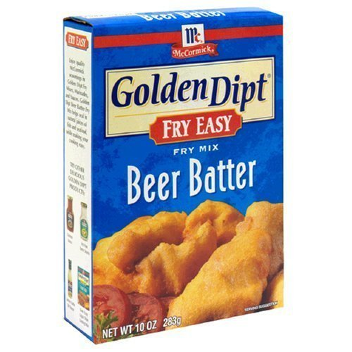 Golden Dipt Mix Batter Beer 10 Oz Pack of 3 by McCormick